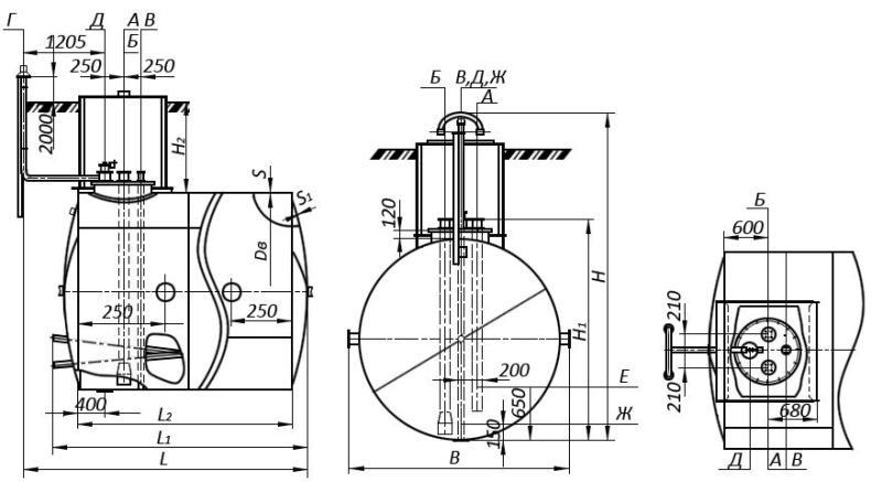 ГРПШ 05 2у1 с регулятором рднк 400м